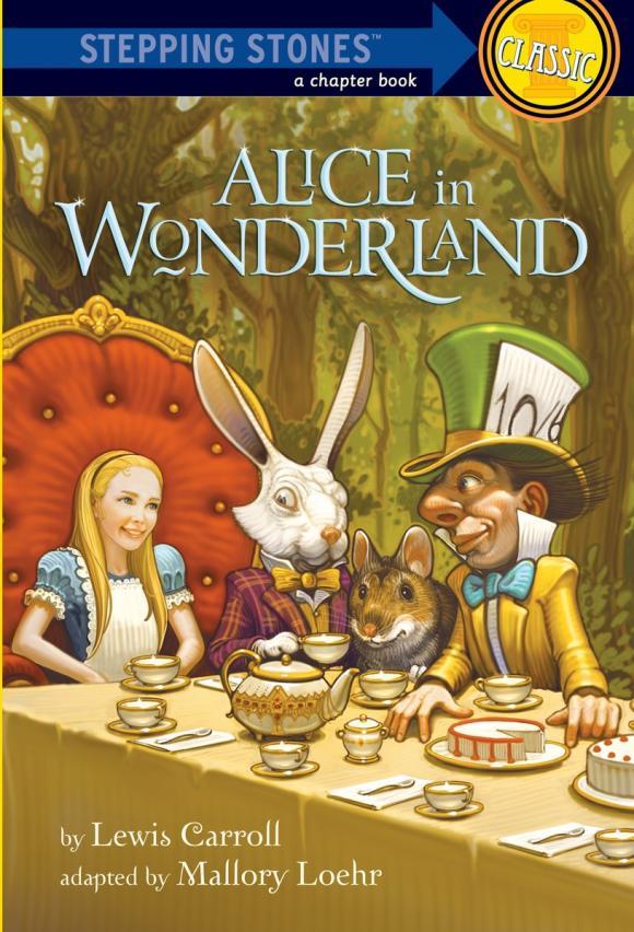 a review of lewis carrolls novel alice in wonderland